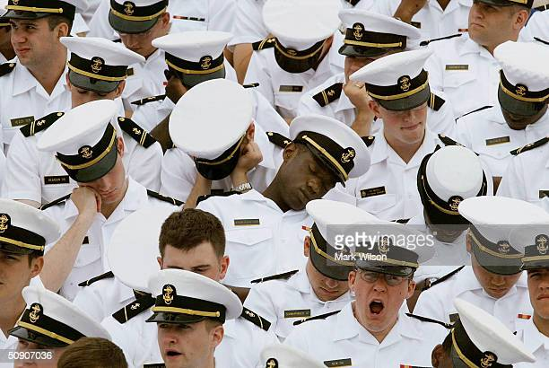 Naval Academy Holds Graduation and Commissioning Ceremony
