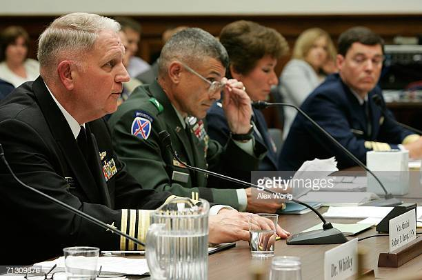 US Naval Academy Superintendent Vice Admiral Rodney Rempt US Military Academy Commandant Brigadier General Robert Caslen US Air Force Academy...