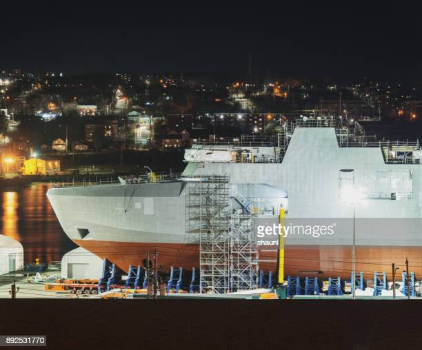 Naval Ship Building