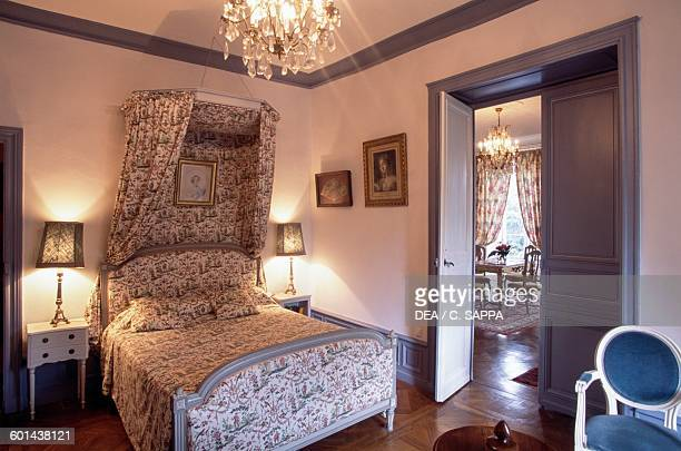 Navarrese bedroom Chateau d'Etchauz SaintEtiennedeBaigorry France Aquitaine 11th16th century