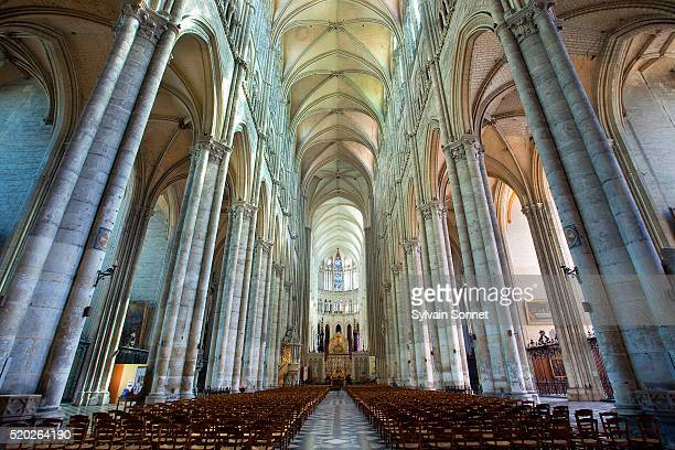 Nave of Notre-Dame d'Amiens Cathedral