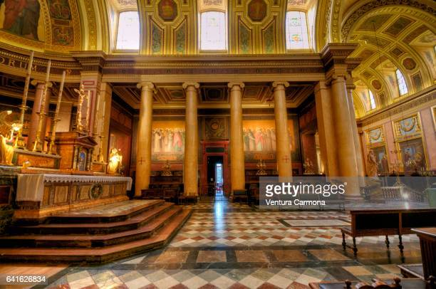Nave of the Rennes Cathedral - France