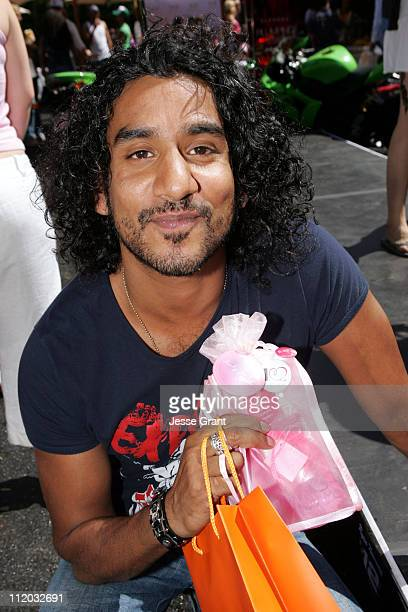 Naveen Andrews at Booty Parlor during KARI FEINSTEIN PR Presents STYLE LOUNGE Benefiting Project Angel Food Day 2 in Los Angeles California United...