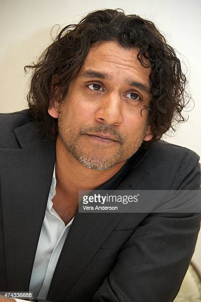 Naveen Andrews at the 'Sense8' Press Conference at the Four Seasons Hotel on May 20 2015 in Bevery Hills California