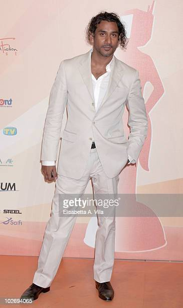 Naveen Andrews attends a photocall during the Rome Fiction Fest at Adriano Cinema on July 7 2010 in Rome Italy