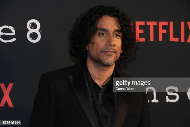 Naveen Andrews attends the 'Sense8' New York Premiere at AMC Lincoln Square Theater on April 26 2017 in New York City