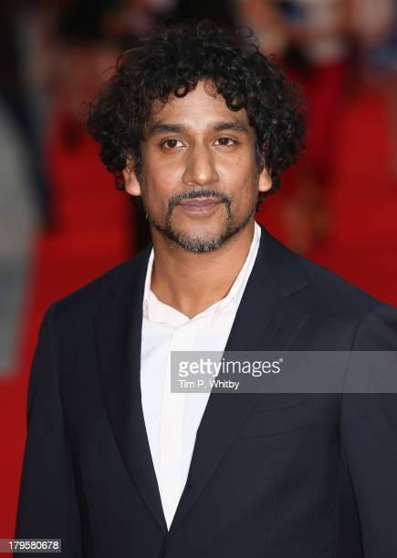 Naveen Andrews attends the World Premiere of Diana at Odeon Leicester Square on September 5 2013 in London England