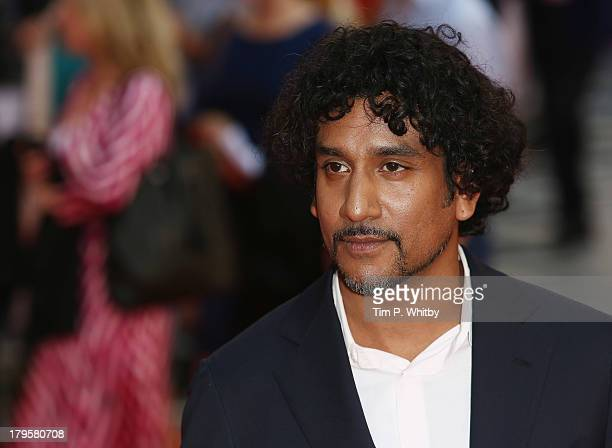 Naveen Andrews attends the World Premiere of 'Diana' at Odeon Leicester Square on September 5 2013 in London England