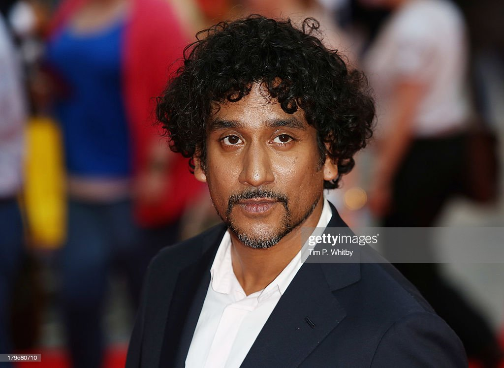 Naveen Andrews attends the World Premiere of 'Diana' at Odeon Leicester Square on September 5, 2013 in London, England.