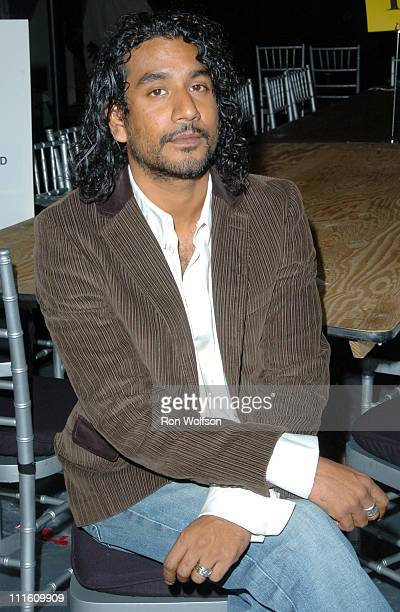 Naveen Andrews during 12th Annual Screen Actors Guild Awards Rehearsal at Shrine Expo Hall in Los Angeles California United States