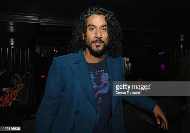 Naveen Andrews during 2005 Billboard Music Awards Maxim After Party at Body English at The Hard Rock Hotel and Casino in Las Vegas Nevada United...