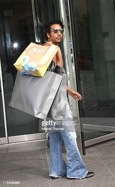 Naveen Andrews during Naveen Andrews Sighting in New York June 14 2006 in New York City New York United States
