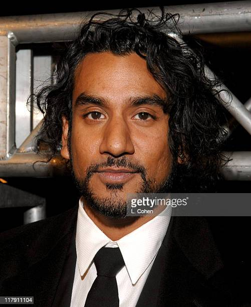 Naveen Andrews during The Weinstein Company's 2007 Golden Globes After Party Inside at Trader Vic's in Beverly Hills California United States