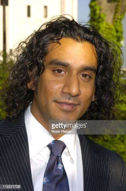 Naveen Andrews of 'Lost' during 2005/2006 ABC UpFront at Lincoln Center in New York City New York United States