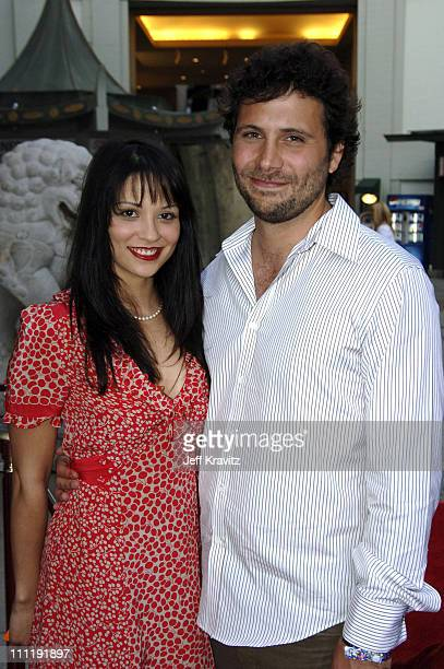 Navi Rawat and Jeremy Sisto during HBO's Six Feet Under Season 5 Premiere Red Carpet at Grauman's Chinese Theater in Hollywood California United...