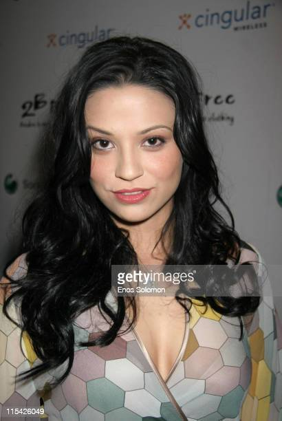 Navi Rawat during Sony Ericsson and Cingular Wireless Present The 2 B Free Fall 2006 Collection Red Carpet at Regent Beverly Wilshire in Beverly...