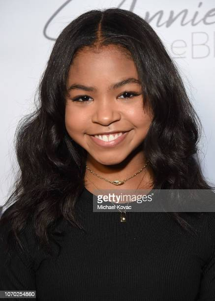 Navia Robinson attends the Annie LeBling presents Annie LeBlanc Performance Pop Up Shop on December 8 2018 in Los Angeles California