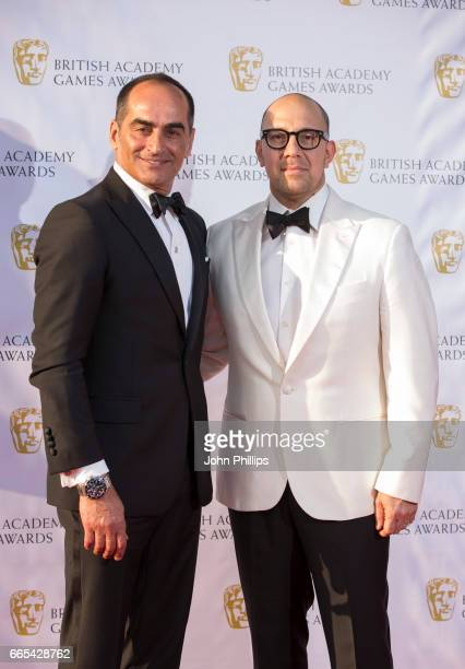Navid Negahban attends the 2016 BAFTA Games Awards at Tobacco Dock on April 6 2017 in London England