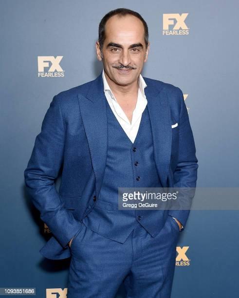 Navid Negahban attends the 2019 Winter TCA Tour FX Starwalk at The Langham Huntington Pasadena on February 4 2019 in Pasadena California