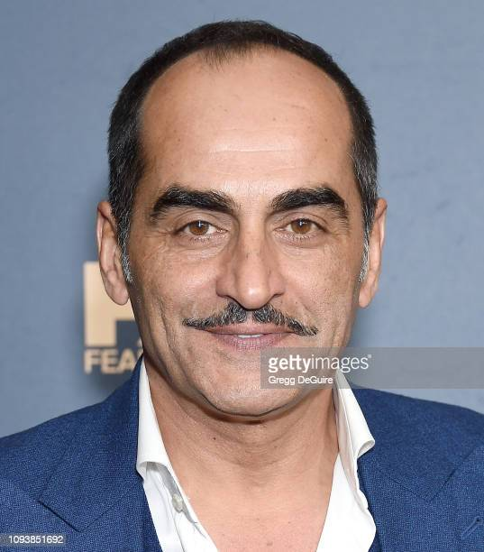 Navid Negahban attends the 2019 Winter TCA Tour FX Starwalk at The Langham Huntington Pasadena on February 4 2019 in Pasadena California