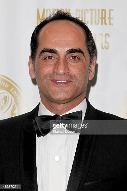 Navid Negahban attends the 61st motion picture sound editors 'Golden Reel' award ceremony at Westin Bonaventure Hotel on February 16 2014 in Los...