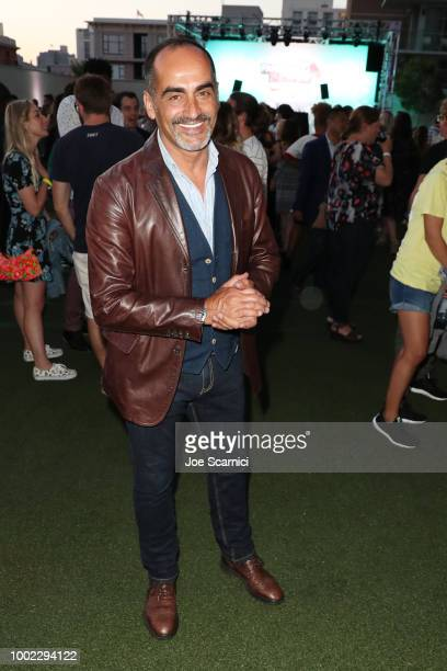 Navid Negahban attends the Fandom Party during ComicCon International 2018 at Float at Hard Rock Hotel San Diego on July 19 2018 in San Diego...
