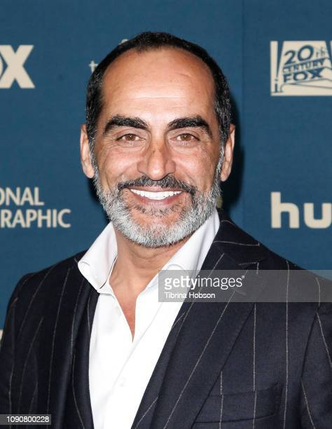 Navid Negahban attends the FOX FX and Hulu 2019 Golden Globe Awards after party at The Beverly Hilton Hotel on January 06 2019 in Beverly Hills...