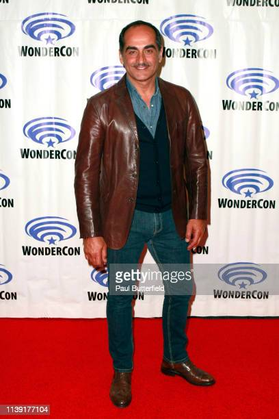 Navid Negahban attends the Legionîˆ press line during WonderCon 2019 at Anaheim Convention Center on March 29 2019 in Anaheim California