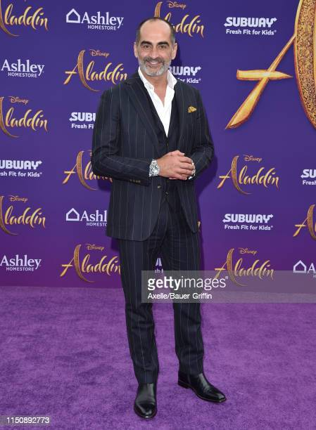 Navid Negahban attends the premiere of Disney's Aladdin on May 21 2019 in Los Angeles California