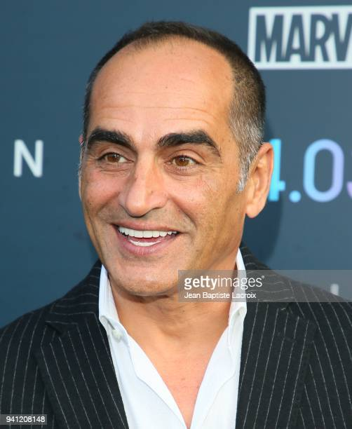 Navid Negahban attends the premiere of FX's 'Legion' Season 2 at DGA Theater on April 2 2018 in Los Angeles California