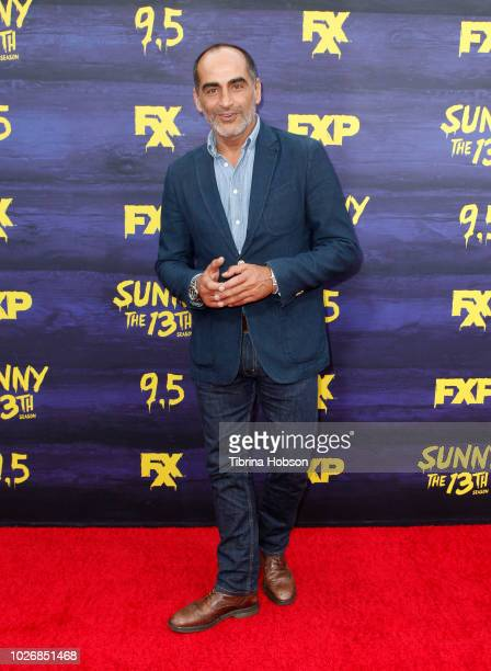 Navid Negahban attends the premiere of FXX's 'It's Always Sunny In Philadelphia' season 13 at Regency Bruin Theatre on September 4 2018 in Los...