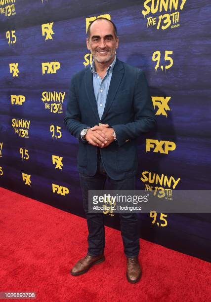 Navid Negahban attends the premiere of FXX's It's Always Sunny In Philadelphia Season 13 at Regency Bruin Theatre on September 4 2018 in Los Angeles...