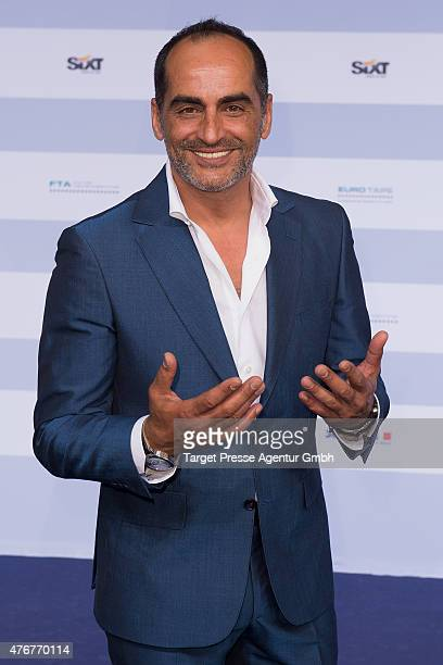 Navid Negahban attends the producer party 2015 of the Alliance German Producer Cinema And Television on June 11 2015 in Berlin Germany