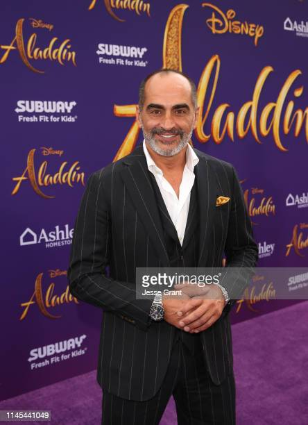 Navid Negahban attends the World Premiere of Disney's Aladdin at the El Capitan Theater in Hollywood CA on May 21 in the culmination of the film's...