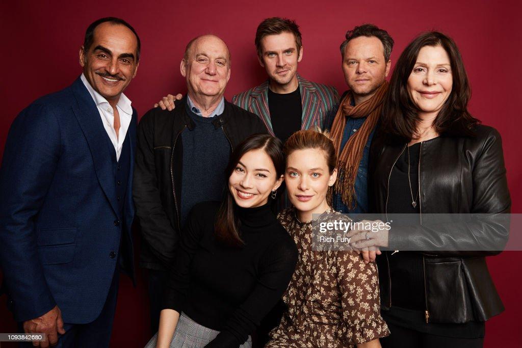 2019 Winter TCA Getty Images Portrait Studio : Nieuwsfoto's