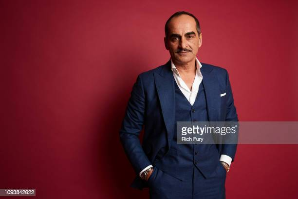 Navid Negahban of FX's 'Legion' poses for a portrait during the 2019 Winter TCA Portrait Studio at The Langham Huntington Pasadena on February 4 2019...