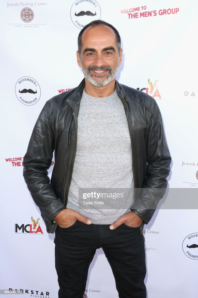 Navid Negahban the premiere of Dark Star Pictures' 'Welcome to the Men's Group' at Ahrya Fine Arts Theater on May 16, 2018 in Beverly Hills, California.