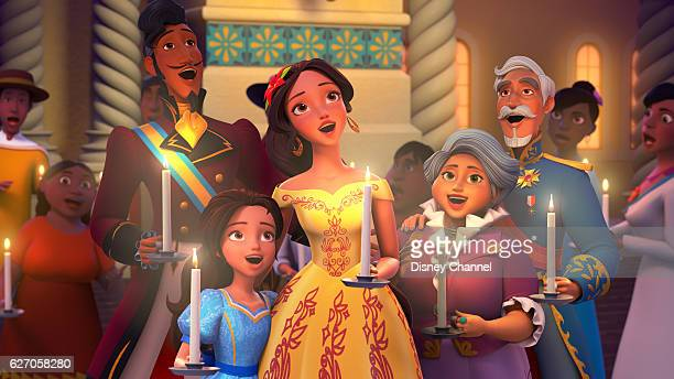 """Navidad"""" - In the special """"Navidad"""" episode, premiering FRIDAY, DECEMBER 9 on Disney Channel, Elena bring all the communities of Avalor together to..."""