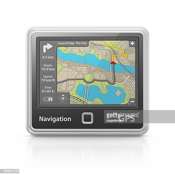 navigation - gps map stock photos and pictures