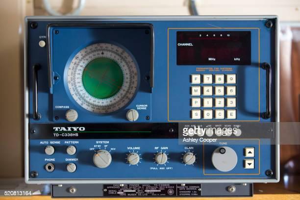 Navigational equipment on the Akademik Sergey Vavilov.