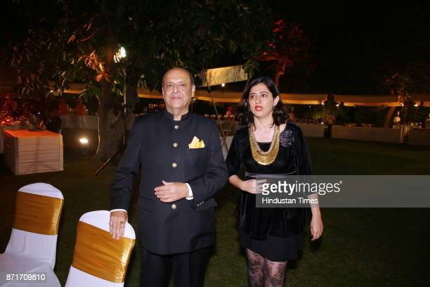 Navin Chawla during the fundraiser for Lepra India Trust at the residence of the British High Commissioner Sir Dominic Asquith at 2 Rajaji Marg on...