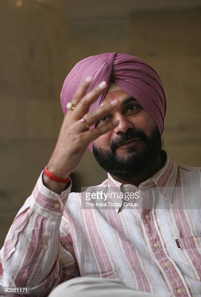 Navjot Singh Sidhu cricket commentator was invited by VETA the largest English learning academy in Asia to promote them New Delhi