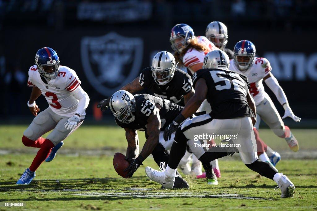 New York Giants vOakland Raiders