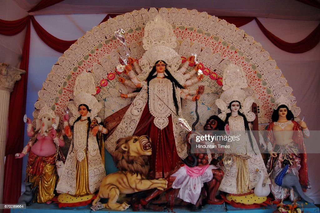 Navratri Devi Durga Puja at JVPD Ground opp IMA club at Juhu
