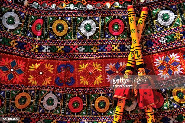 Navratri - Traditional dance festival background