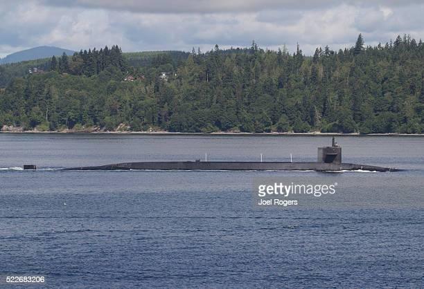 us navy, ballistic missile submarine, washington state, - submarine stock pictures, royalty-free photos & images