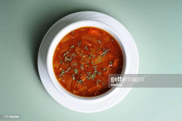 ネイビーの豆のスープ