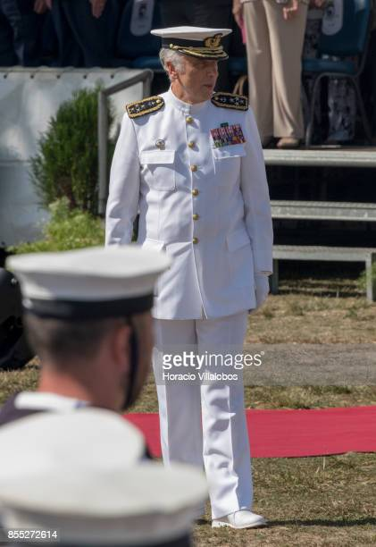 Navy Chief of Staff Admiral Antonio Manuel Fernandes da Silva Ribeiro during the commemoration of the 100th anniversary of Portuguese Naval Aviation...