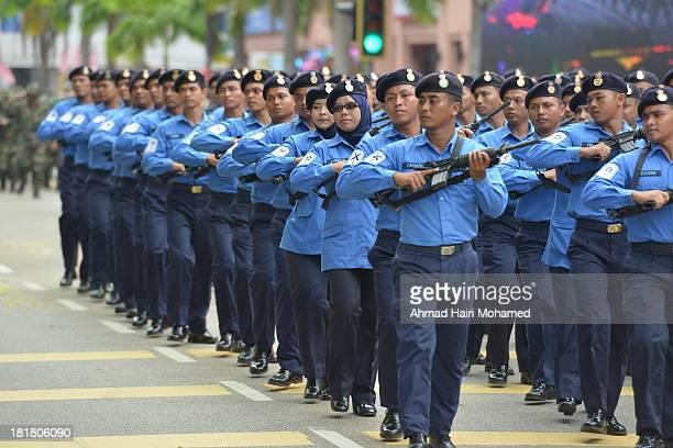Navy, free, march, parade, independence, free, gun, gun, blue, handsome, smart, organized, flag, robust