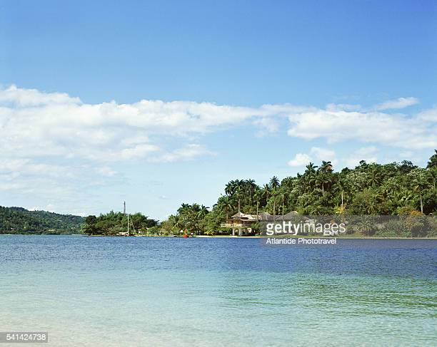 Navy Island at Port Antonio in Jamaica